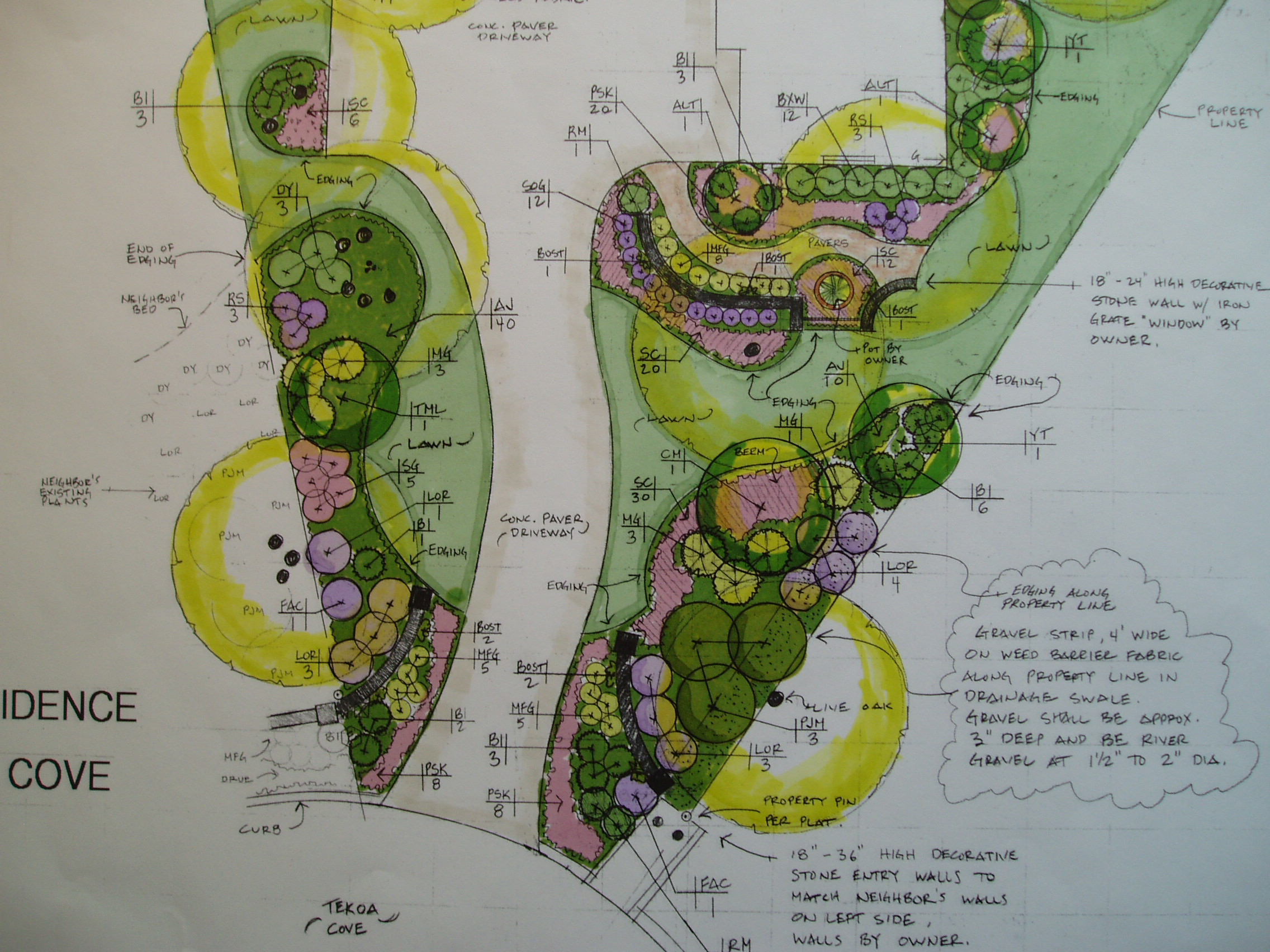 Landscape Architecture Design Plan 2272 x 1704